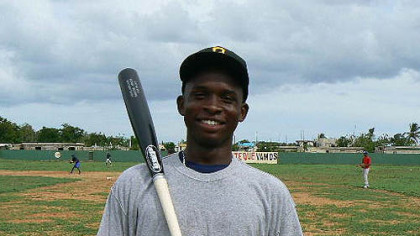 Miguel Angel Sano, an elite Dominican prospect.