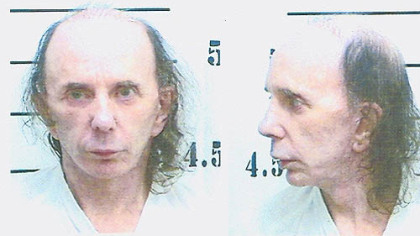 Known for his wild hairstyles over the years, Phil Spector appears in his June 5 prison booking photo.