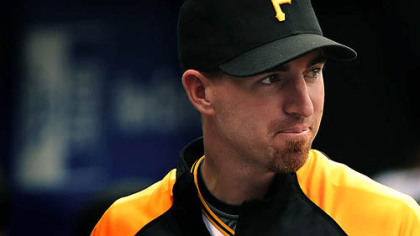 The Pirates traded first baseman Adam LaRoche to the Red Sox yesterday.