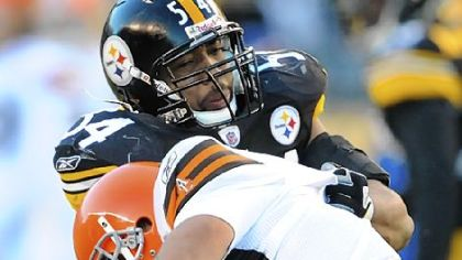 Andre Frazier, sacking Cleveland&#039;s Bruce Gradkowski in December, is the top backup at outside linebacker.