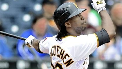 Andrew McCutchen went 2 for 4 and scored 3 runs in his Major League debut against the New York Mets at PNC Park on Thursday.