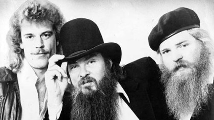 ZZ Top in the pre-MTV era: From left, Frank Beard, Billy Gibbons and Dusty Hill.