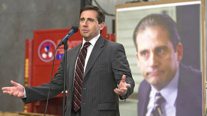 Steve Carell as Michael Scott in &quot;The Office.&quot;