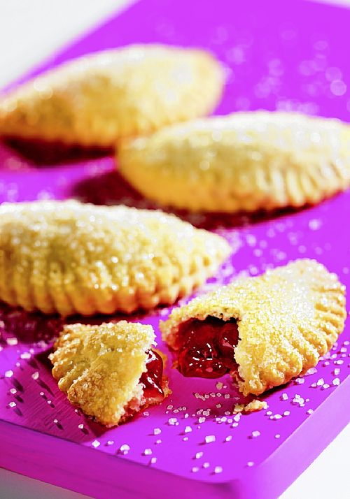 """Cherry Jam Half-Moon Pies from """"The Complete Book of Pies"""" by Jule ..."""