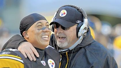 Hines Ward and Bruce Arians