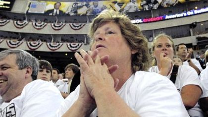 Last night's game had Nancy Vogel and everyone else at Mellon Arena on the edge of their seats.