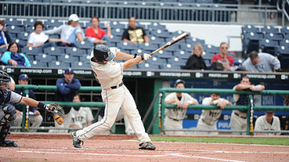 Chris Sedon set a Pitt record with 22 home runs this spring.
