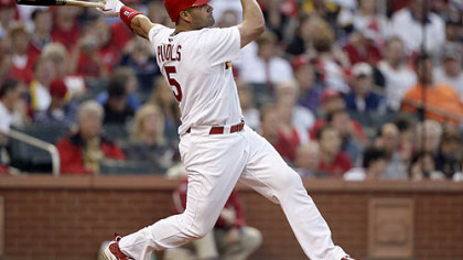 Longtime Pirates nemesis Albert Pujols struck early with a first-inning home run.