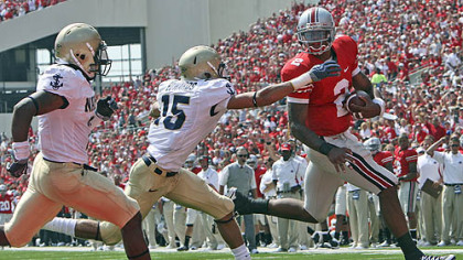 Quarterback Terrelle Pryor leads Ohio State versus Southern California Saturday.