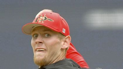 Stephen Strasburg: The young man with the 103-mph fastball.