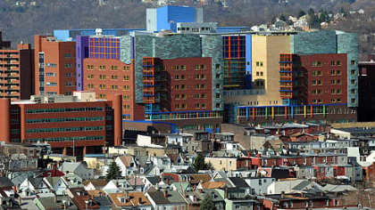 Children's Hospital now crowns the property of the former St. Francis Medical Center.