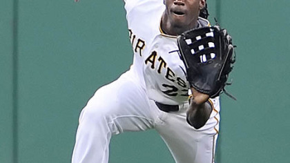 Biggest boost: Pirates outfielder Andrew McCutchen