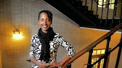 Ayana Ledford, director of Progress, a non-profit based at Carnegie Mellon University that researches and develops programs for gender equaltiy.