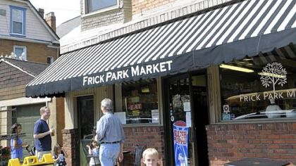 The Frick Park Market, under the ownership of Maggie Cook and John Prodan, has once again become a spot for neighbors to drop in for snacks, food and conversation.