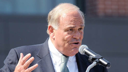 Speaking in Cranberry as part of his four-stop tour yesterday, Gov. Ed Rendell lays out his reasoning for an income tax increase.