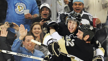 Among the questions these last days of the season: Which is more important for Evgeni Malkin - rest or the NHL scoring title?