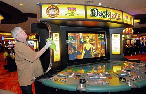 Odds on video blackjack machines