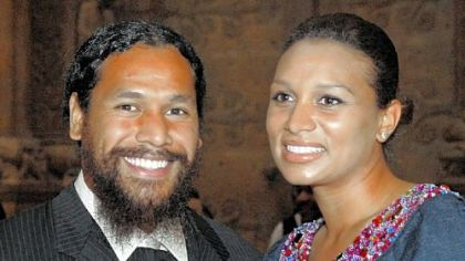 Troy and Theodora Polamalu were hosts for the Sugar and Spice Hill House Benefit in April at the Carnegie Music Hall in Oakland.