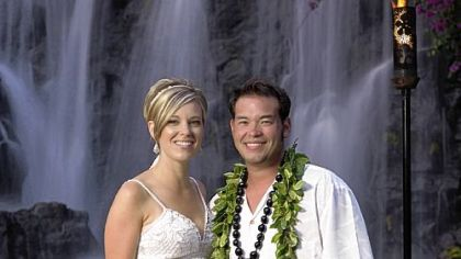 Kate and Jon Gosselin of reality TV fame.