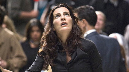"Ayelet Zurer portrays an Italian scientist in ""Angels & Demons."""