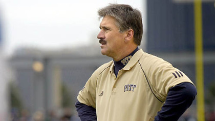 Pitt coach Dave Wannstedt wants improvement from his defense.