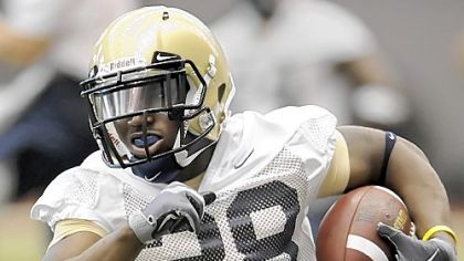 Freshman Dion Lewis will be Pitt&#039;s starting running back.