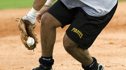 Pedro Alvarez, the Pirates' top draft pick, has been working hard since signing, says team president Frank Coonelly.
