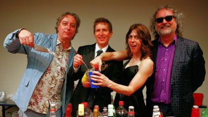 Peter Buck, Steve Wynn, Linda Pitmon and Scott McCaughey find a winning combination in their band The Baseball Project.