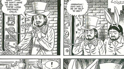 Ed Piskor&#039;s &quot;Wizzywig Volume 1: Phreak&quot; includes characters depicting Apple founders Steve Wozniak and Steve Jobs, the original &quot;phreaks.&quot;