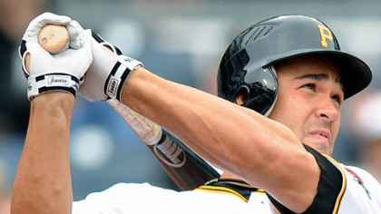 Pirates outfielder Garrett Jones has five home runs in 11 games.