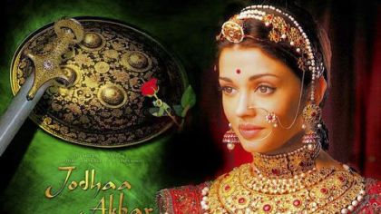 "Poster for the film ""Jodha Akbar."""