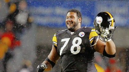 Offensive lineman Max Starks has had an up-and-down career with the Steelers.