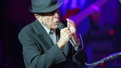 Leonard Cohen in Philly on Tuesday.