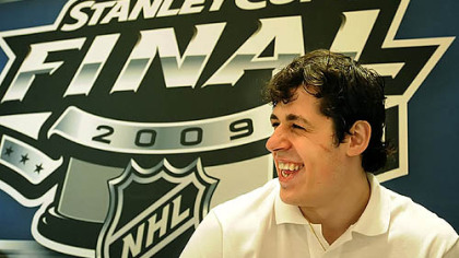 Evgeni Malkin: Is that a Russian smile or an American smile?