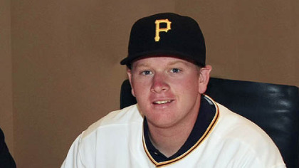 The Pirates agreed to terms with right-handed pitcher Brooks Pounders, who was selected by the club in the second round of this year's draft.