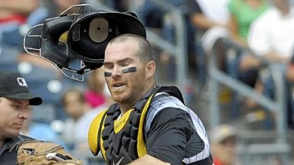 Pirates catcher Ryan Doumit is dealing with a back ailment.