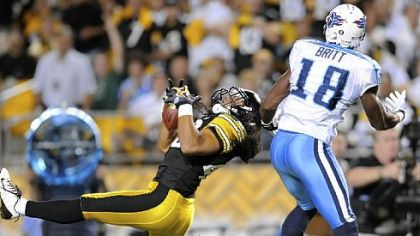 Steelers safety Troy Polamalu has not played since Week One.