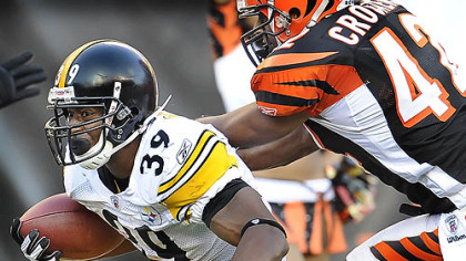 Steelers running back Willie Parker is suffering from turf toe.
