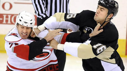 Penguins forward Paul Bissonnette will have a tough time making the Penguins' NHL roster out of training camp.