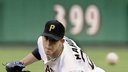 Pirates pitcher Paul Maholm will be presented with the Clemente Award tomorrow.