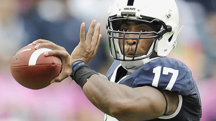 Penn State is 21-4 in games quarterback Daryll Clark has started.