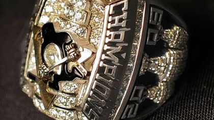 One of the Penguins' Stanley Cup rings.