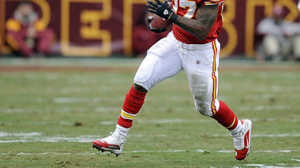 The Chiefs released running back Larry Johnson today.