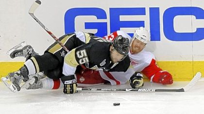 While Sergei Gonchar&#039;s best assets are his puck skills, he has shown that he is not adverse to contact. Just ask Johan Franzen of the Detroit Red Wings, who was laid out by Gonchar during last season&#039;s Stanley Cup final.