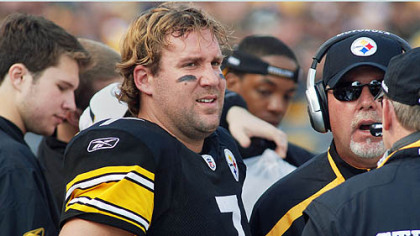 Ben Roethlisberger is expected back in the lineup today after missing the game in Baltimore.