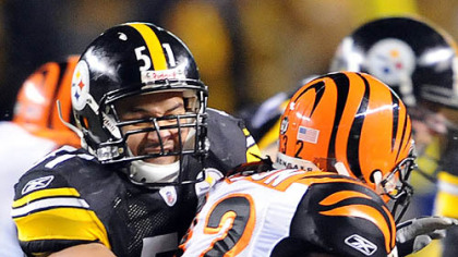 "Steelers linebacker James Farrior on Cincinnati: ""They look like they know what they're doing."""