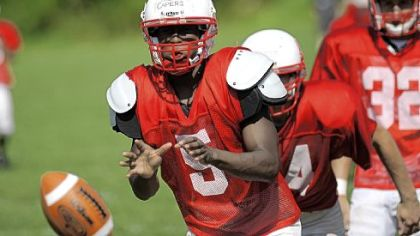 Chartiers Valley quarterback Wayne Capers is dealing with a fractured bone in his right foot.