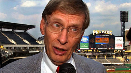 "Major League Baseball Commissioner Bud Selig on the Pirates: ""I know how painful this is for the fans in Pittsburgh."""