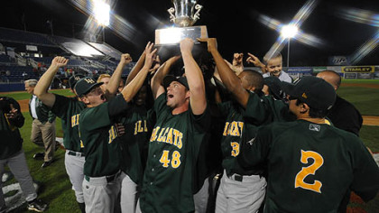 The Lynchburg Hillcats won the Carolina League championship.