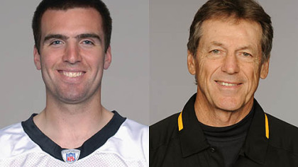 Ravens QB Joe Flacco vs. Steelers defensive coordinator Dick LeBeau